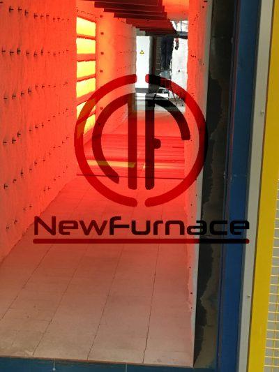 electric enamel furnace