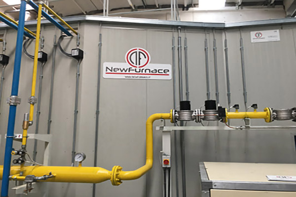 new furnace enameling furnace gas
