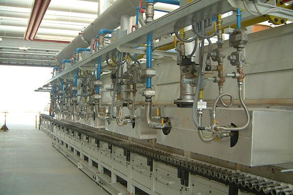 rolls enameling furnace