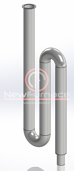 radiant tube inconel 601 for enameling furnace