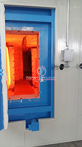 second hand gas fired enameling furnace