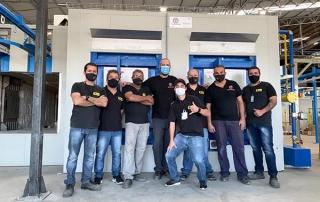 new furnace italia enameling furnace team